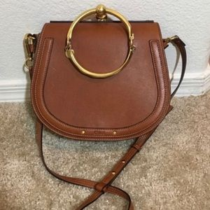 Chloe Bracelet bag in brown